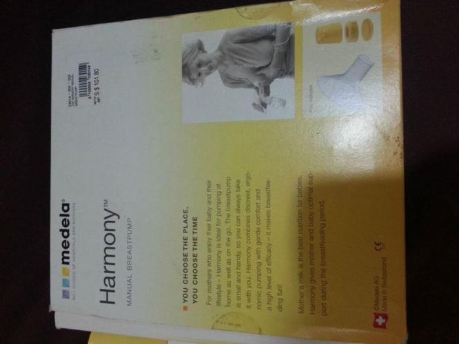 Medela Harmony manual breast pump - lightly used