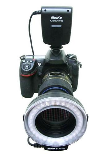 Meike FC-100 Macro LED Ring Light & Flash (FC100)