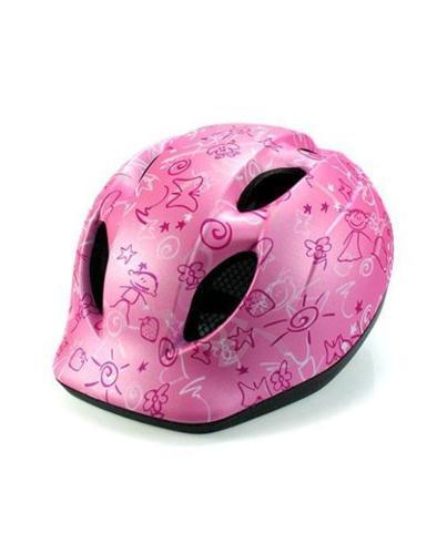 MET Super Buddy Pink Drawings Kids Helmet