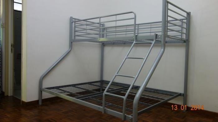 Metal Triple Bunk Bed for sale - $180 (Upper Thomson