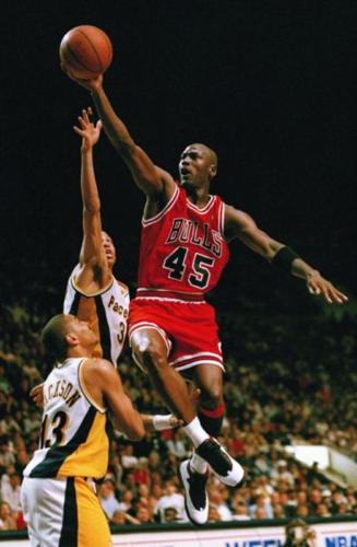 new concept 196ff 36222 Michael Jordan (#45) jersey and other NBA jerseys and shorts ...