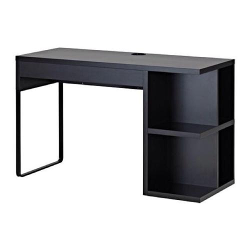Micke desk with chair and work lamp