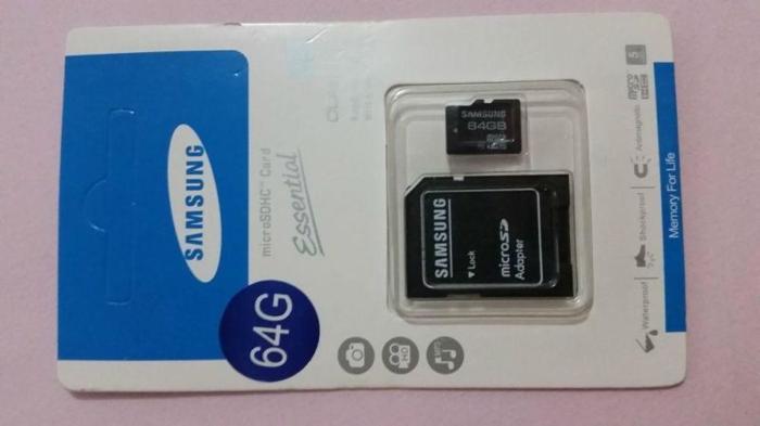 MicroSD card Samsung & SanDisk 64GB