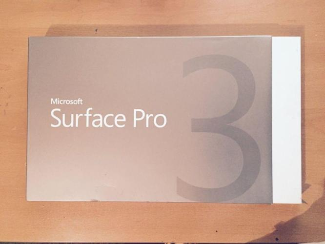 Microsoft Surface Pro 3 256GB, Wi-Fi, 12in - with