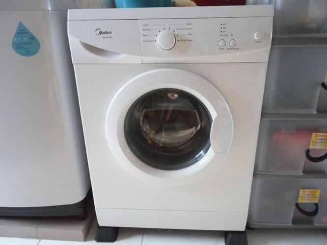 Midea MF710W front load washing machine 3 yrs warranty