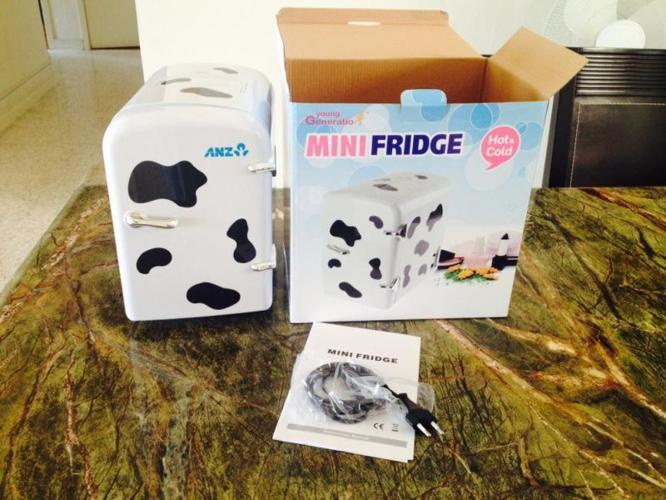 Mini hot and cold brand new fridge available