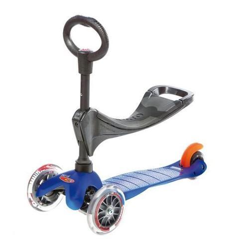 Mini Micro Kick 3 Kids Scooter - Blue