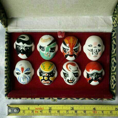 Miniature Opera mask (Brand new)