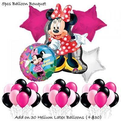 Minnie Mouse Balloon Bouquet by Party Wholesale Centre