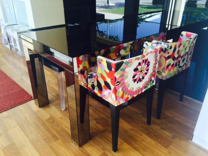 Mirror Dining Table For Sale