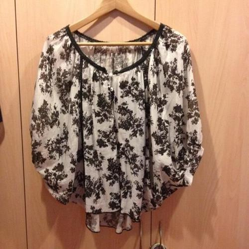 Miss Emily Batwing Top