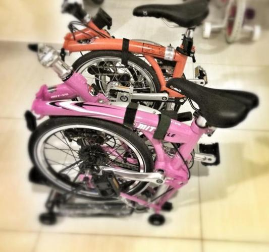MIT Cycle V8 - *Folds like Brompton* Commuter bicycle