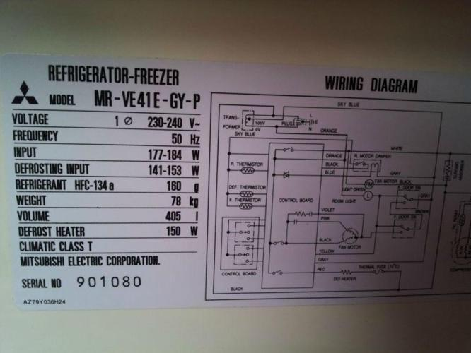 Surprising Wiring Diagram Refrigerator Mitsubishi Basic Electronics Wiring Wiring Digital Resources Zidurslowmaporg