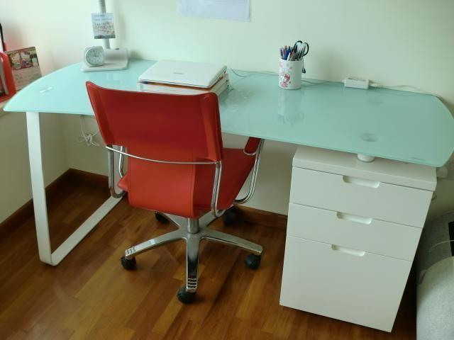 Modern Writing Table & Chair
