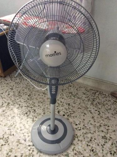 Morries fan still in warranty