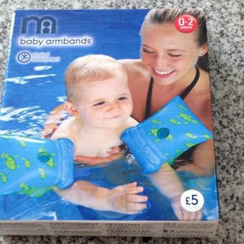 Mothercare baby armbands for 0 to 2 years old
