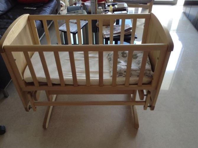Mothercare delux gliding crib / cot