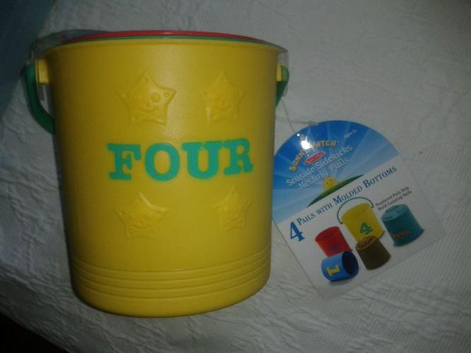 Mothercare sand buckets