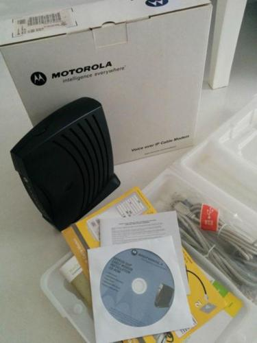 Motorola Starhub Cable Modem SBV5120 Surfboard As New