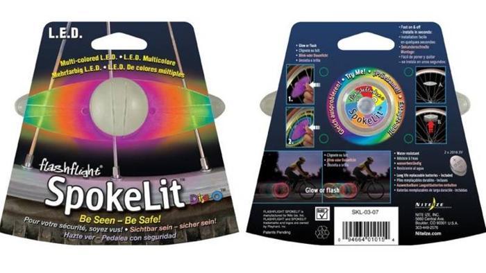 Multi Color LED lights for Bicycle Wheels - NiteIze