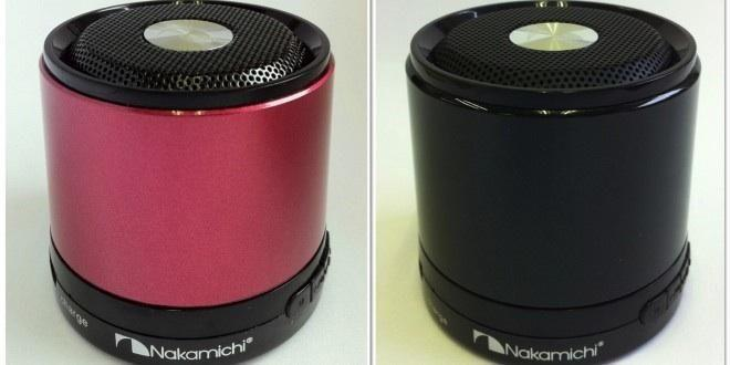 Nakamichi Wired Portable Speaker with Rechargeable Battery Black