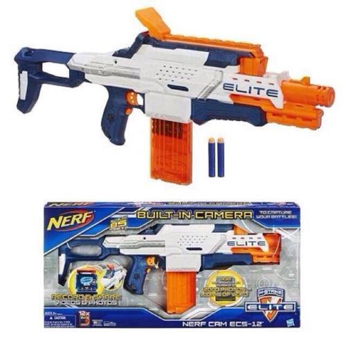Nerf N-Strike Elite Nerf Cam ECS-12 85 Feet Blaster