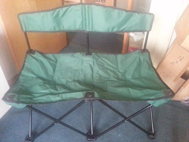 New 2-man settee (foldable) for sale @ $30 only