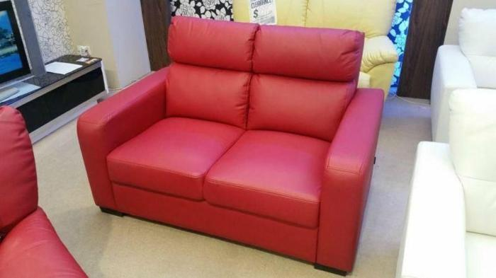NEW 2+1 seater leather sofa for sale!!!