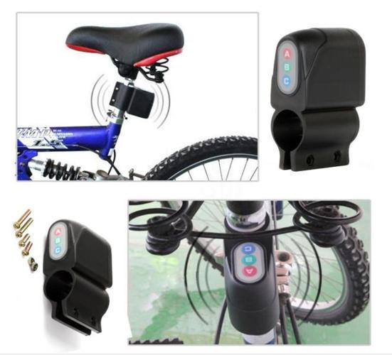 New! Bicycle Security Burglar Alarm Siren Lock System