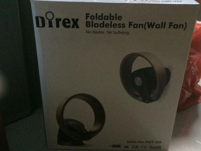 New Bladeless Fan