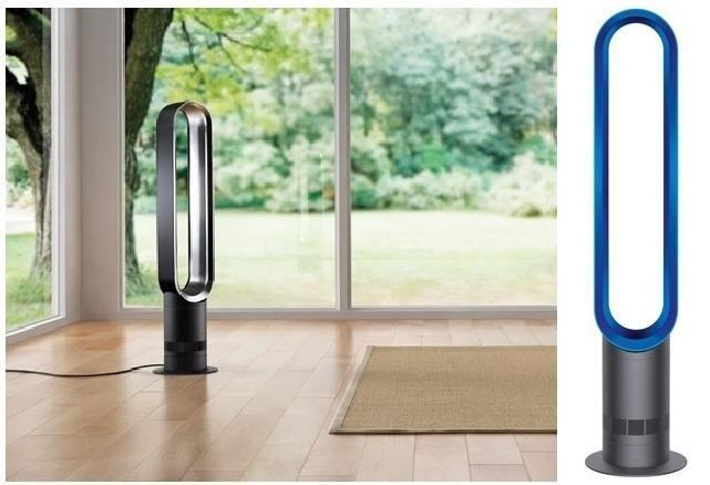 NEW Dyson AM07 Tower Fan (Iron/Blue) for Sales