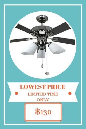 NEW! Fanco 2000 Ceiling Fan - Windy, Long Lasting, Low