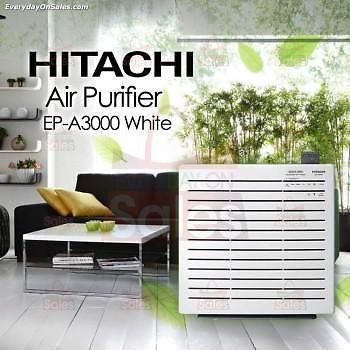 New HITACHI High Specs Air Filter/Purifier EPA3000