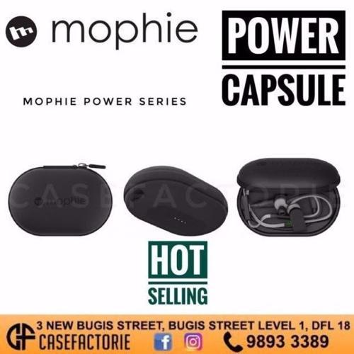 NEW! Mophie Earphone Power Capsule (1700Mah),