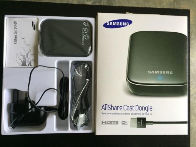 New Samsung AllShareCast Dongle works for Samsung Tab &