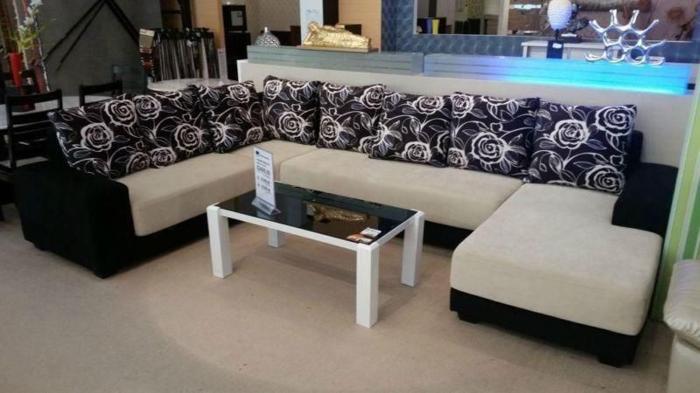 NEW U-shape,modular unit ,fabric sofa for sale!!!