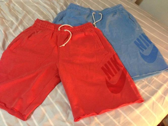Nike Sweat Shorts x2