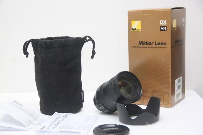 NIKKOR 18-200 VR Lens $435