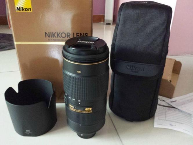 NIKON 80-400mm F4-5.6G SUPER ED VR2 FULL SET IN BOX