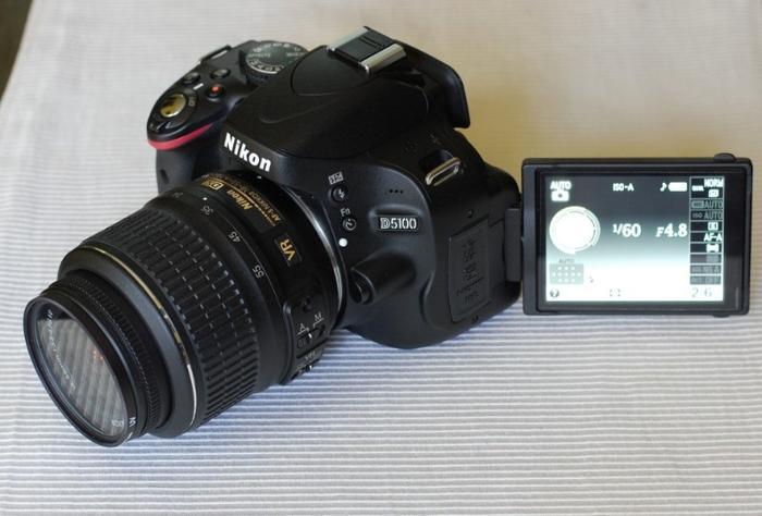 Nikon D5100 DSLR Camera with 18-55mm f/3.5-5.6 Auto