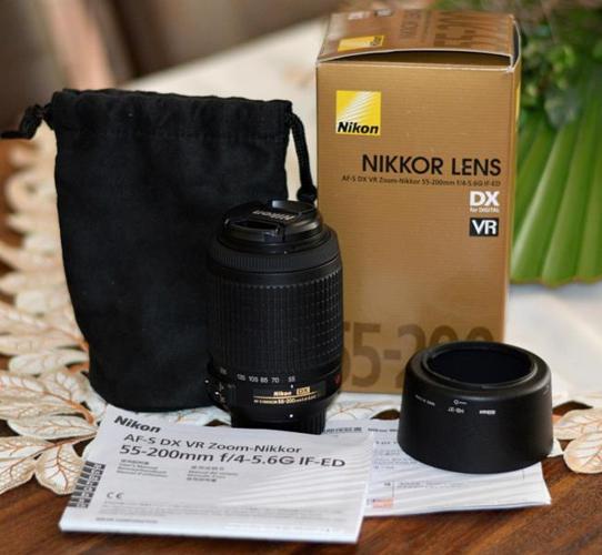 Nikon Digital Camera Nikkor Lens Kit 55-200mm f4-5.6G