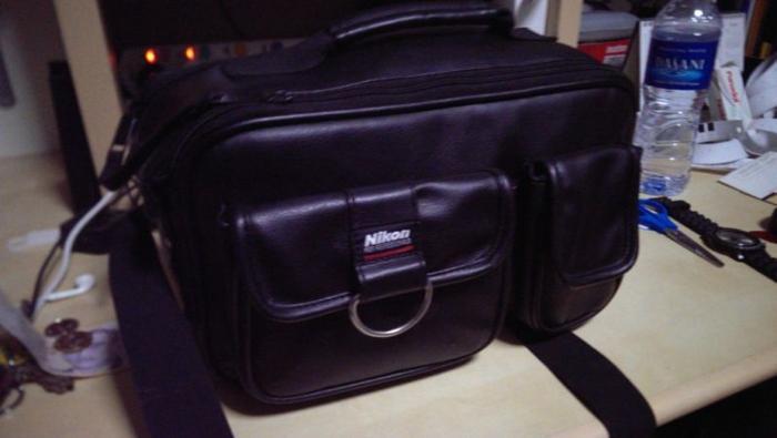 Nikon Leather Camera Bag