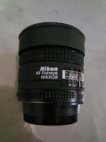 Nikon Nikkor 16 mm Fisheye Lens