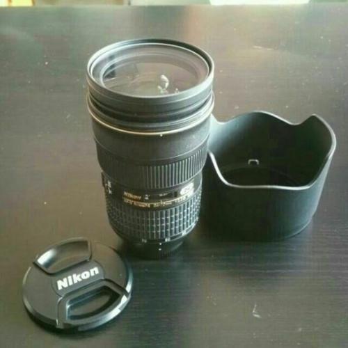 Nikon Prime Lens 24-70 f2.8 + Box + Bag