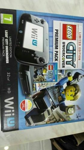 Nintendo Wii u LEGO city undercover premium pack 32GB