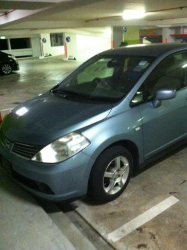 Nissan Latio 1.6 A Auto transmission for Rent
