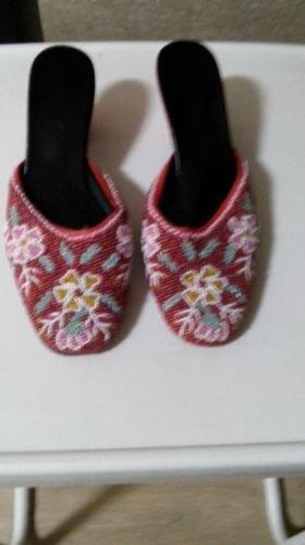 Nonyas Beaded Slippers