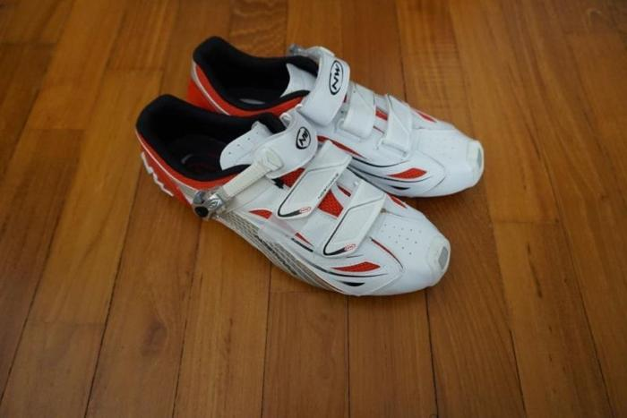 NORTHWAVE ROAD CYCLING SHOES - WORN ONCE IN EXCELLENT