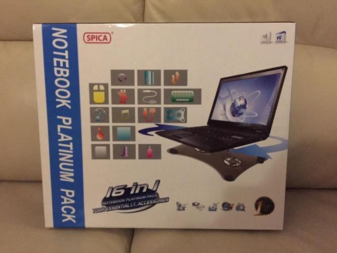 Notebook Platinum Pack - 16 inch -SPICA