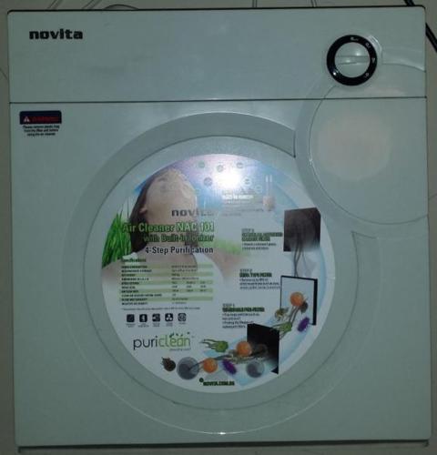 Novita Air Cleaner NAC 101 with Built-in Ionizer